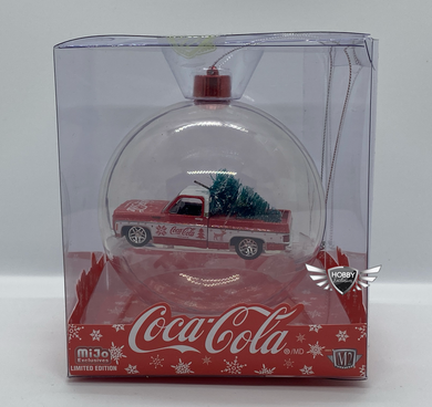 Coca Cola Ornament 1973 Chevrolet Fleetline MiJo Exclusives M2