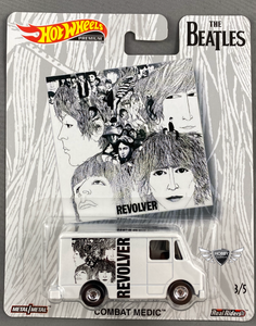 Combat Medic THE BEATLES Hot Wheels POP Culture #3