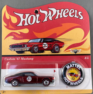 Custom 67 Mustang #4 HOT WHEELS