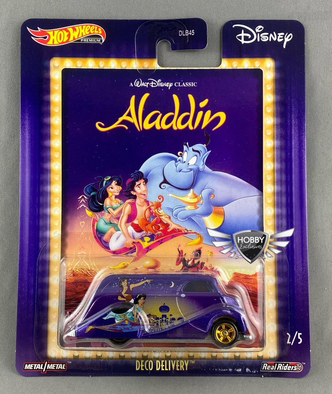 Deco Delivery ALADDIN Disney POP Culture Hot Wheels #2