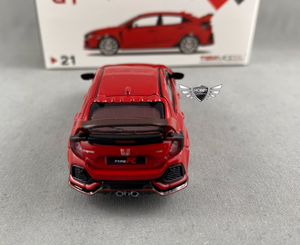 Honda Civic Type R Rallye Red Modulo Edition 1/64 Scale MINI GT #21