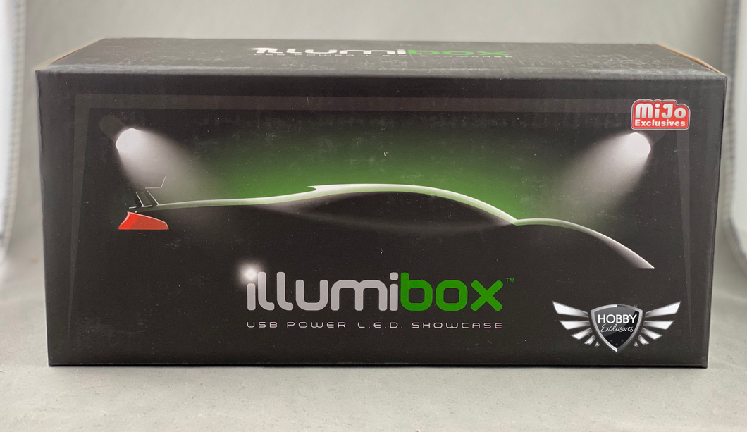 Illumibox 10' Show Case W/ Riser Black MiJo Exclusives