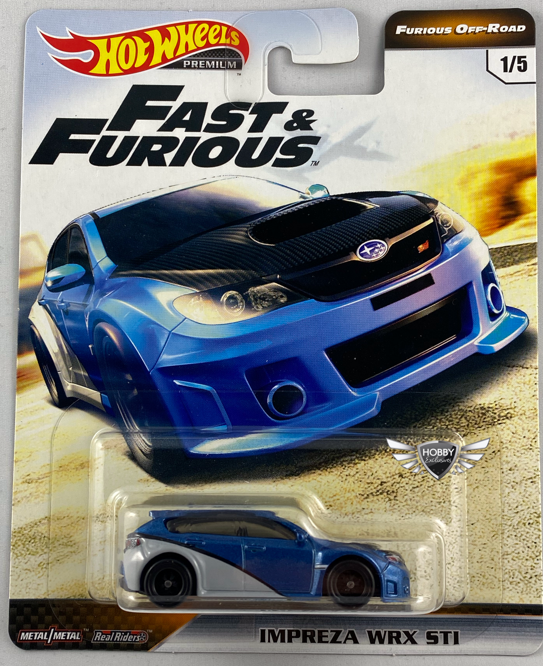 Impreza WRX STI FAST & FURIOUS OFF ROAD Hot Wheels #1