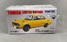 Load image into Gallery viewer, Isuzu Bellett 1600GT Tomica Limited Vintage LV-136a (NEW)