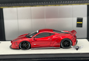 LB458 Metallic Red Timothy & Pierre