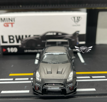 Load image into Gallery viewer, LB Silhouette WORKS GT Nissan 35GT-RR Matte Black Mini GT CHINA Exclusives #169