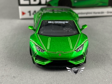 Load image into Gallery viewer, LB Works Lamborghini Huracan Green MiJo Exclusive Mini GT #149