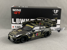 Load image into Gallery viewer, LB Works Nissan GT-R JPS #140 MiJo Exclusives Mini GT
