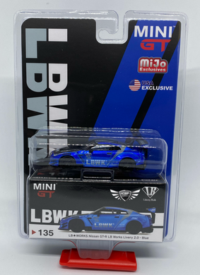 Nissan GT-R LB Works Livery 2.0 Blue #135 MiJo Exclusives