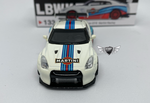 LB Works Nissan GT-R Martini Racing Mini GT MiJo Exclusives #133