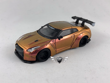 Load image into Gallery viewer, LB Works Nissan GT-R35 Type 1 Magic Bronze Hong Kong Exclusives MINI GT #33