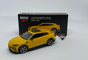 Lamborghini Urus Giallo Auge #113 MiJo Exclusives MINI GT