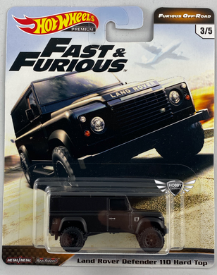 Land Rover Defender 110 Hard Top FAST & FURIOUS OFF ROAD Hot Wheels #3