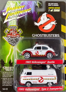 MG Minis Johnny Lightning Ghostbusters VW 2pk