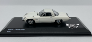 Mazda Cosmo Sport White Japan Exclusives Kyosho