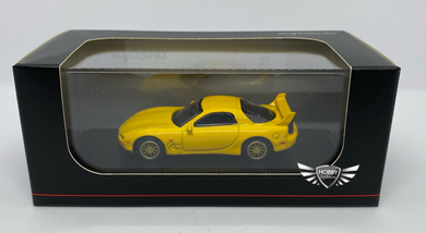 Mazda RX-7 Yellow Japan Exclusives Kyosho