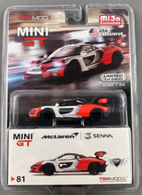 Load image into Gallery viewer, McLaren Senna #81 MiJo Exclusives MINI GT