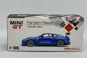 Mini GT Pandem Nissan GT-R Metallic Blue #96 JAPAN Exclusives