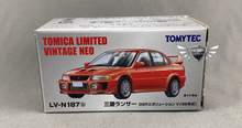 Load image into Gallery viewer, Mitsubishi Lancer Evolution V Tomica Limited Vintage Neo LV-N187b (NEW)