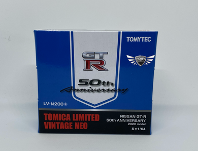 Nissan GT-R 50th Anniversary Tomica Limited Vintage NEO LV-N200