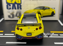 Load image into Gallery viewer, Nissan GT-R (R35) Nismo 2020 Yellow 1st Edition ERA Car #34
