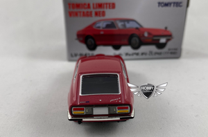 Nissan Fairlady Z-L 2by2 Tomica Limited Vintage NEO RED LV-N41d