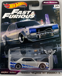 Nissan Skyline HT-2000GT-X FAST REWIND Hot Wheels #3