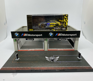 Pit Garage Diorama BMW Tarmac Works
