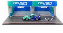 Load image into Gallery viewer, Pit Garage Diorama Tarmac Works FALKEN 1:64