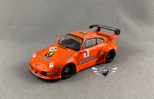 Load image into Gallery viewer, RWB 993 Jägermeister 1:64 Scale Tarmac Works