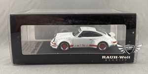 RWB Porsche 930 Ducktail Wing WHITE 1/64 Scale