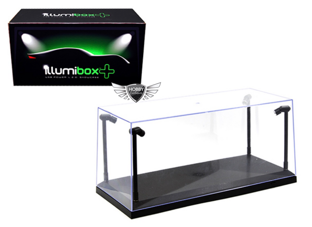 Showcase 1:18 Illumibox+USB Powered LED (Black Base)