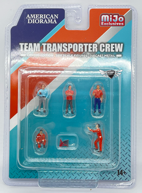 Team Transporter Crew American Diorama MiJo Exclusives