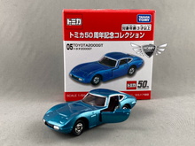 Load image into Gallery viewer, Toyota A2000GT 50th Anniversary Tomica #05