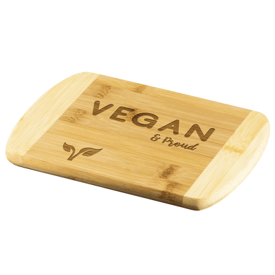 VEGAN PROUD - Wood Cutting Board - Zen Stick Concept