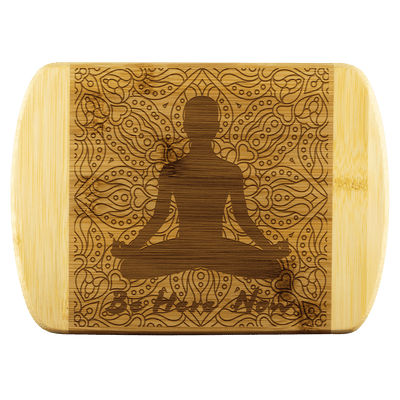 BE HERE - Bamboo Wood Cutting Board - Zen Stick Concept