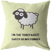 White Sheep Pillow