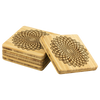Find your Center Bamboo Coaster Set