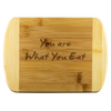 What you Eat - Wood Cutting Board - Zen Stick Concept