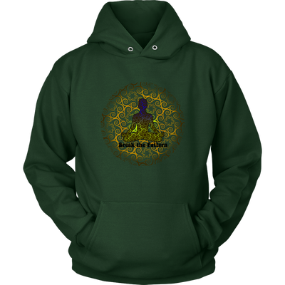 Break the Pattern Yoga Hoodie