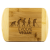 EVOLVE VEGAN - Wood Cutting Board - Zen Stick Concept