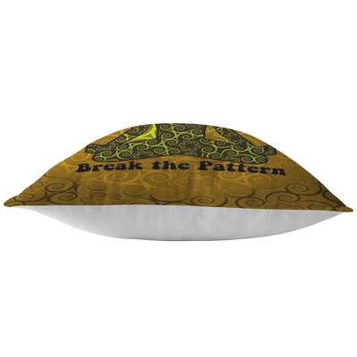 Break the Pattern Pillow