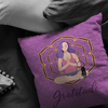 Gratitude  Pillow - Yoga Collection