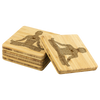 Go In Bamboo Coaster Set