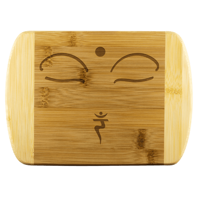 SURRENDER  - Wood Cutting Board - Zen Stick Concept