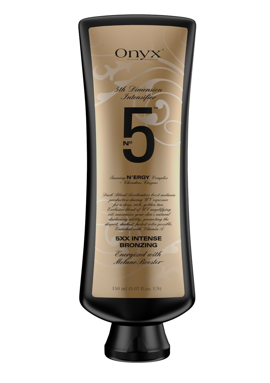 No5 GOLD - intensifier for indoor tanning
