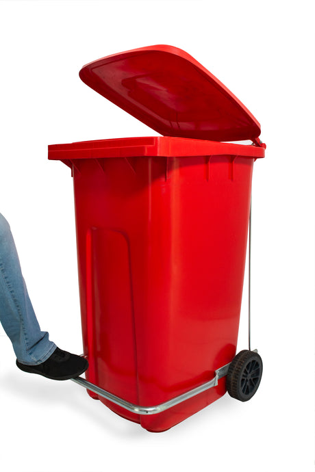 Mpact's Foot-Operated Pedal Wheelie Bin