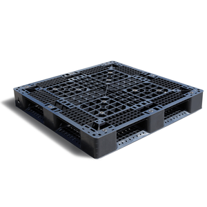 Stackable Plastic Pallet and Stacking Plastic Pallet