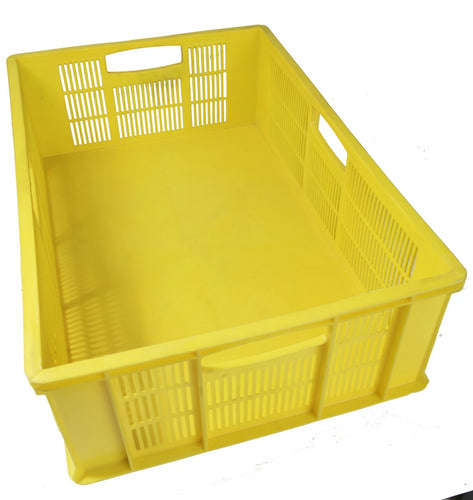 mpact yellow stack crate