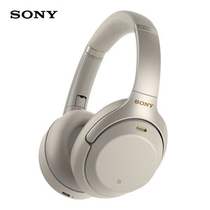 SONY WH-1000XM3 Wireless Bluetooth Headphones Over-Head Headset Intelligent Noise-Canceling NFC Function Touch Panel Handsfree Call